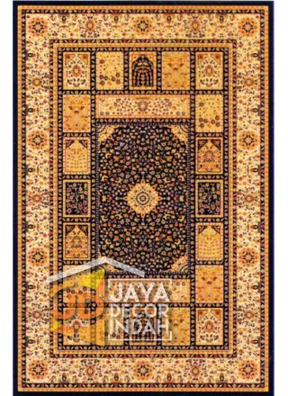 Karpet Permadani Akmal Motif 0876B-PHS22 160x230, 200x300, 240x340, 300x400