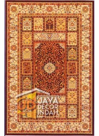 Karpet Permadani Akmal Motif 0876B-PHS33 160x230, 200x300, 240x340, 300x400