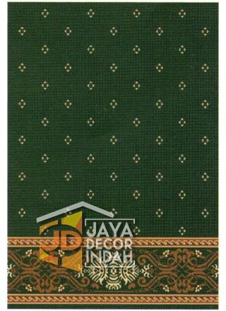 Karpet Sajadah AL MAS Green Motif Bintik 120x600, 120x1200