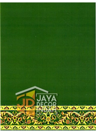 Karpet Sajadah Al Hussen 689038_DKG Green 120x600, 120x1200, 120x1800, 120x2400, 120x3000
