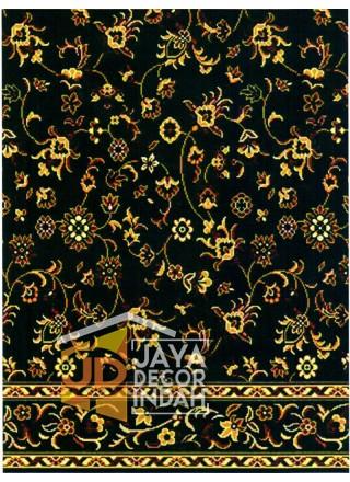Karpet Sajadah Al Hussen 689043_DKG Flower Green 120x600, 120x1200, 120x1800, 120x2400, 120x3000