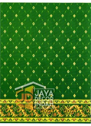 Karpet Sajadah Al Hussen 689090 Pattern Green 120x600, 120x1200, 120x1800, 120x2400, 120x3000