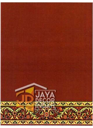 Karpet Sajadah Al Hussen 689038_DKR Red 120x600, 120x1200, 120x1800, 120x2400, 120x3000