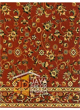 Karpet Sajadah Al Hussen 689043_DKR Flower Red 120x600, 120x1200, 120x1800, 120x2400, 120x3000