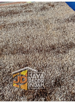 Shaggy Ideal  brown Yellow  150x200, 120x160