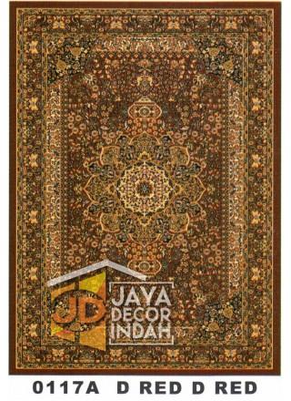 Karpet Permadani Kashan Istanbul 0117A Red