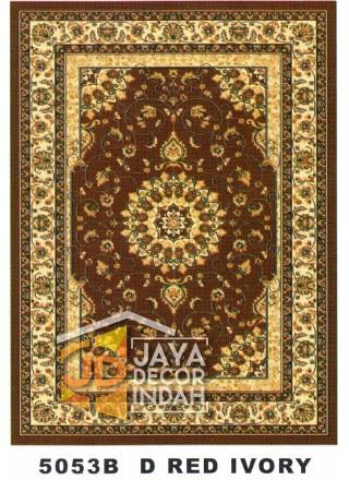 Karpet Permadani Kashan Istanbul 5053B Red Ivory