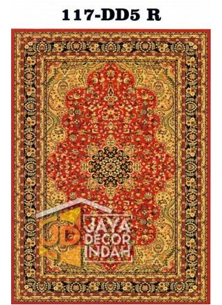 Karpet Permadani Pyramid Motif 117-DD5 R 120x160, 160x230, 200x300, 240x340, 300x400