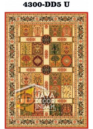 Karpet Permadani Pyramid Motif 4300-DD5 U 120x160, 160x230, 200x300, 240x340, 300x400