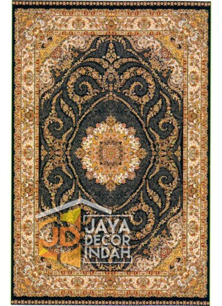Karpet Permadani Shah Palace Motif 1971B-YAB57 160x230, 200x300, 240x340, 300x400