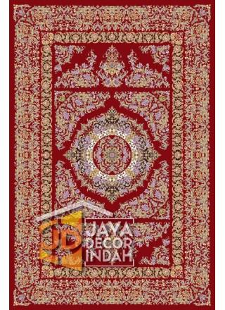 Karpet Permadani Solomon 1200 Reeds ALBORZ RED ukuran 150x225, 200x300, 250x350, 300x400