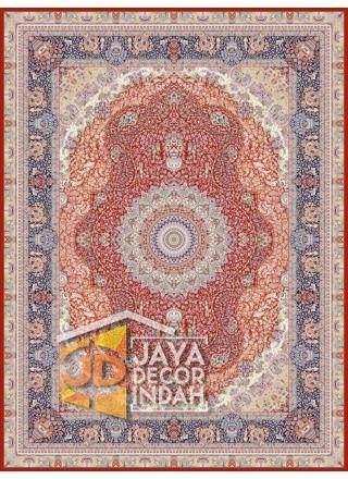 Karpet Permadani Solomon 1200 Reeds FARVAH RED ukuran 150x225, 200x300, 250x350, 300x400