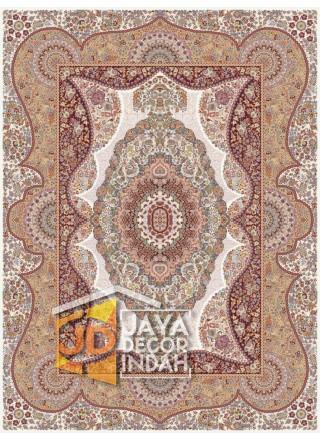Karpet Permadani Solomon 1200 Reeds FERESHTE CREAM ukuran 150x225, 200x300, 250x350, 300x400