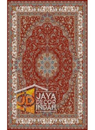 Karpet Permadani Solomon 700 Reeds BAKTASH RED ukuran 100x150, 150x225, 200x300, 250x350, 300x400