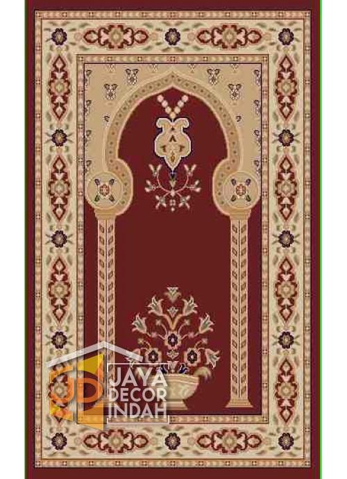 Akmal Imam Motif HAC-22A - Sajadah Imam / Masjid / Mushola / Karpet Lantai Permadani / Bulu
