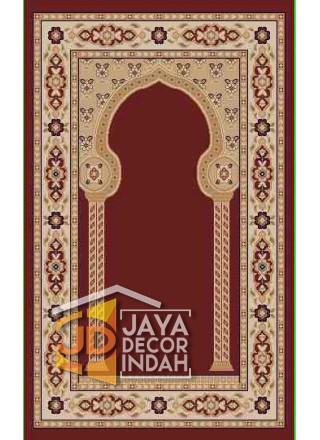 Akmal Imam Motif HAE-24A - Sajadah Imam / Masjid / Mushola / Karpet Lantai Permadani / Bulu