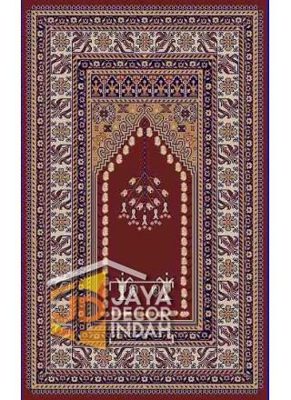 Akmal Imam Motif HSB-29A - Sajadah Imam / Masjid / Mushola / Karpet Lantai Permadani / Bulu