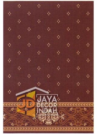 Karpet Sajadah AL MAS Red Motif Bintik 120x600, 120x1200