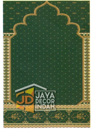 Karpet Sajadah Asma Green Motif Pilar Bintik 120x600, 120x1200, 120x1800, 120x2400, 120x3000