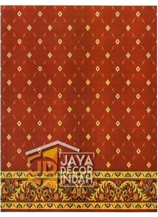 Karpet Sajadah Al Hussen 689090 Pattern Red 120x600, 120x1200, 120x1800, 120x2400, 120x3000