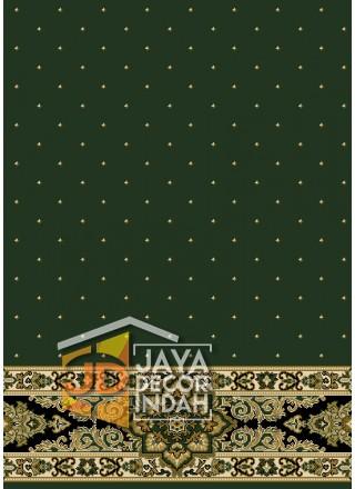 Karpet Sajadah New Asma Green 1034G Motif Bintik 120x600, 120x1200, 120x1800, 120x2400, 120x3000