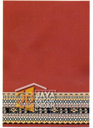 Karpet Sajadah Benazier Red Motif Polos 120x600, 120x1200, 120x1800, 120x2400