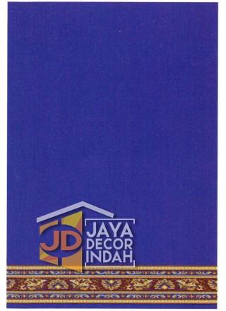 Karpet Sajadah Bristol Blue Motif Polos 120x600, 120x1200, 120x1800, 120x2400, 120x3000
