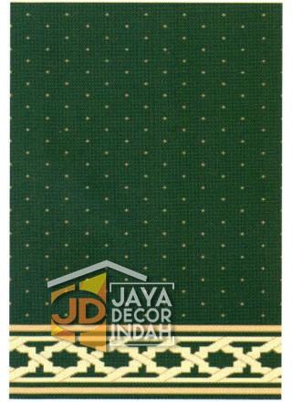 Karpet Sajadah Bristol Green Motif Bintik 120x600, 120x1200, 120x1800, 120x2400, 120x3000