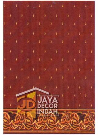 Karpet Sajadah ISTANBUL ZAM-ZAM Red Motif Bintik 120x600, 120x1200, 120x1800, 120x2400, 120x3000