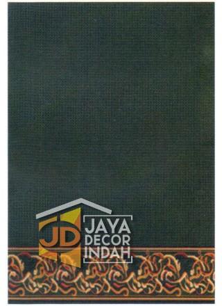 Karpet Sajadah ISTANBUL ZAM-ZAM Green Motif Polos 120x600, 120x1200, 120x1800, 120x2400, 120x3000