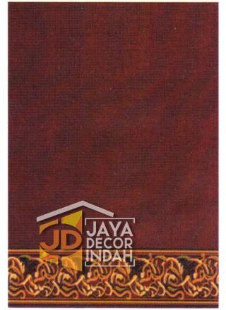 Karpet Sajadah ISTANBUL ZAM-ZAM Red Motif Polos 120x600, 120x1200, 120x1800, 120x2400, 120x3000