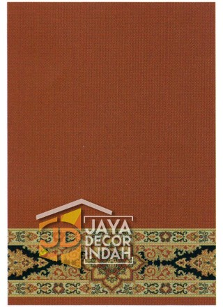Karpet Sajadah Royal Mosque Red Motif Polos 120x600 dan 120x1200