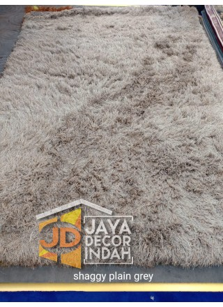 Karpet Shaggy Goldsun Plain Grey 150x200, 160x230, 200x300, 240x340