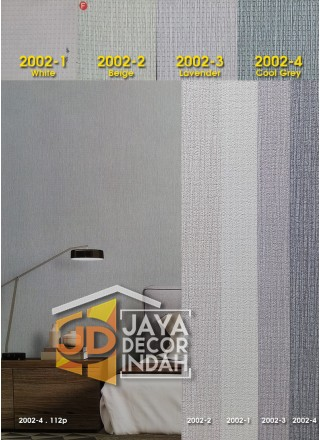 E-ROOM Wallpaper 2002 Plain Textured 106cm x 1560cm
