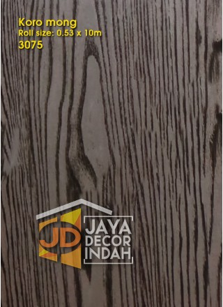 KOROMONG Wallpaper 3075 Wood Textured