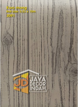 KOROMONG Wallpaper 3091 Wood Textured