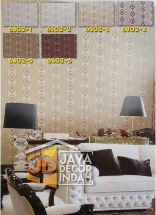 LUSSO Wallpaper 6302 Stripes