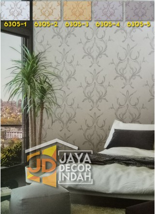 LUSSO Wallpaper 6305 Damask