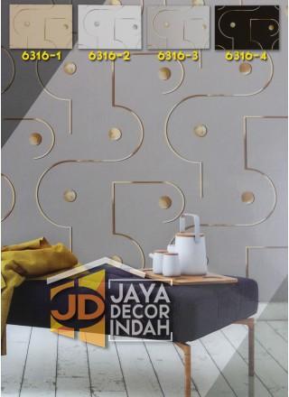 LUSSO Wallpaper 6316 Geometric